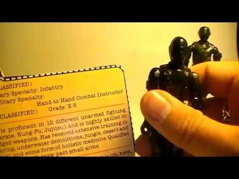 G. I. Joe Action Figure Review: 1982 Snake Eyes