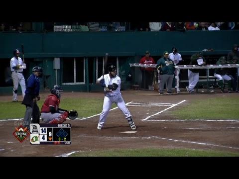 Juego 5 de la Serie Final de Beisbol Liga Invernal Veracruzana Tobis vs Chileros