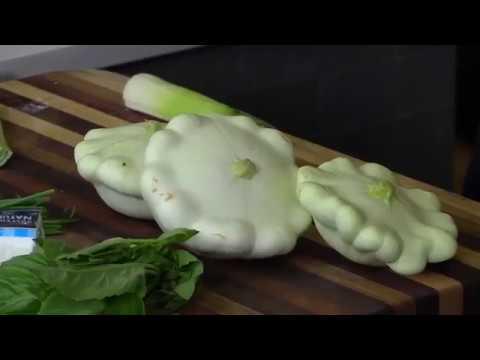 Wild Thyme-Pan Seared Patty Pan Squash 7/7