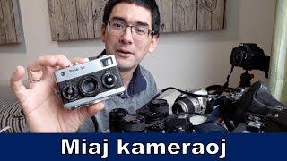 Mi kolektas kameraojn | Esperanto vlogo