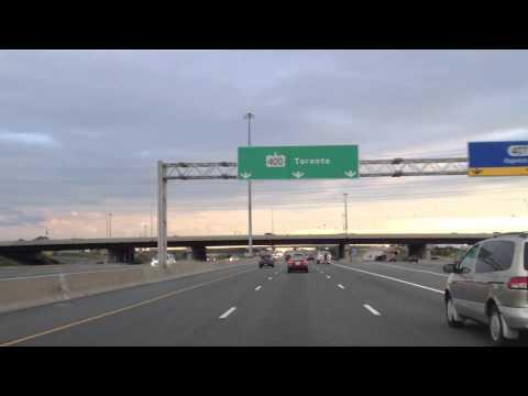 Vaughan towards Toronto