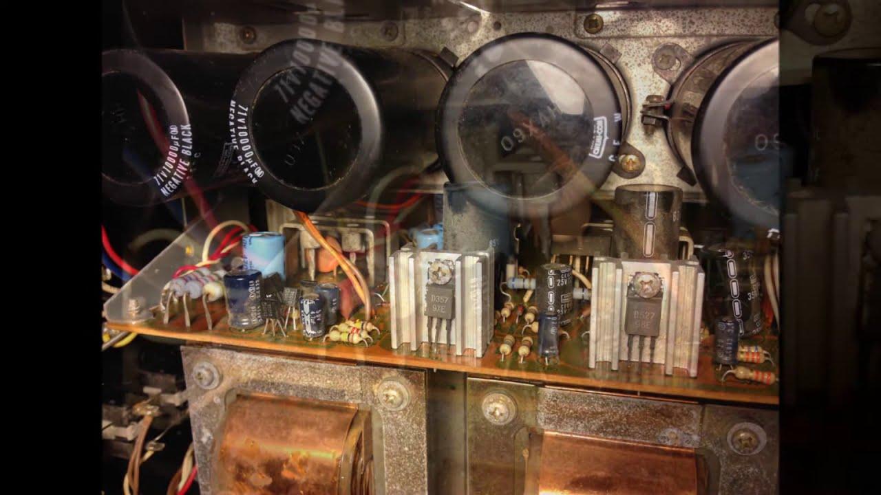Sansui Au 719 Repair Power Protection Problem Youtube