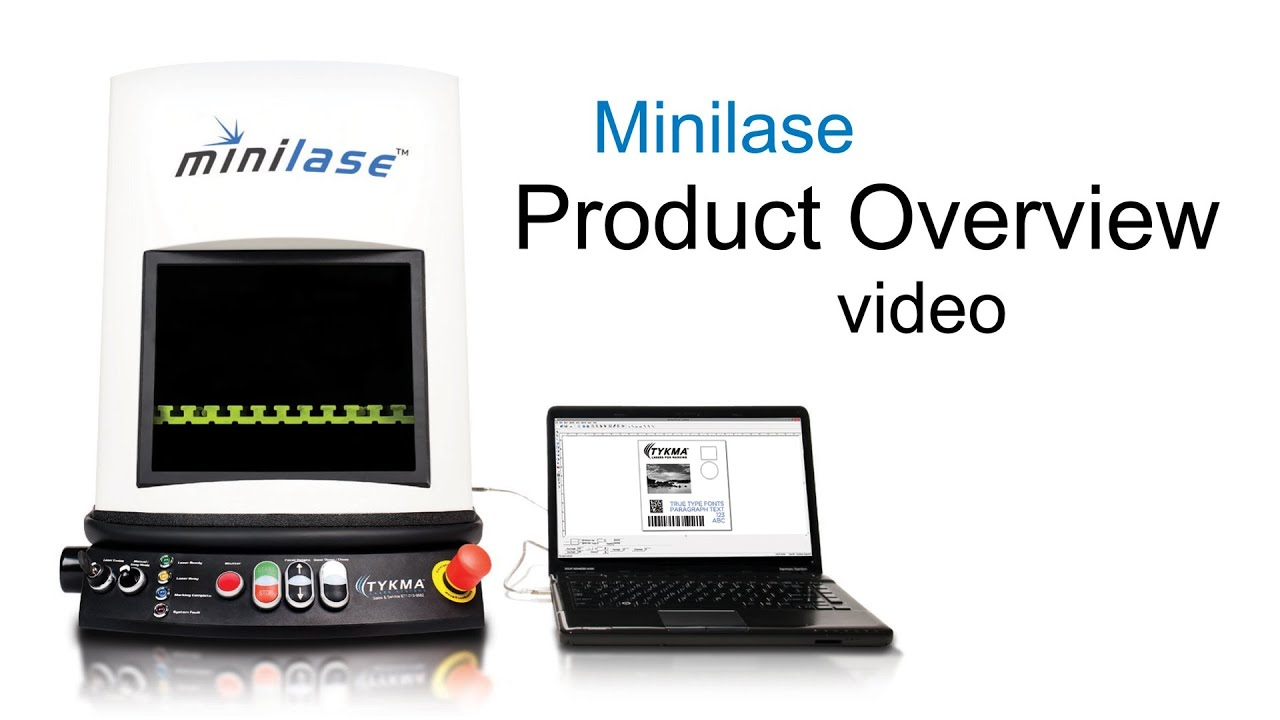Minilase Fiber Laser Marking System Overview Youtube