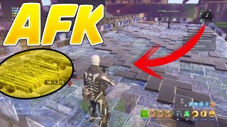 I STAY AFK WHILE I TRADE MY WEAPONS 130 *AWESOME*. EXPERIMENTO FORTNITE SAVE THE WORLD