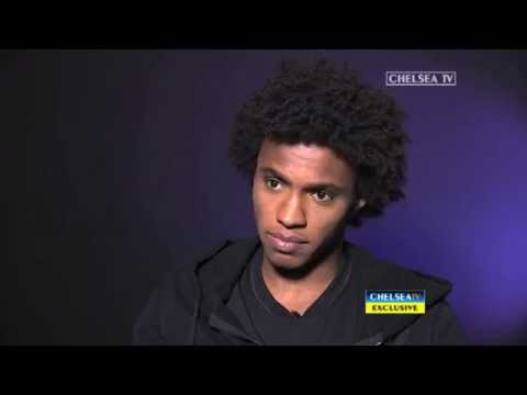 EXCLUSIVE: Willian's first interview in English