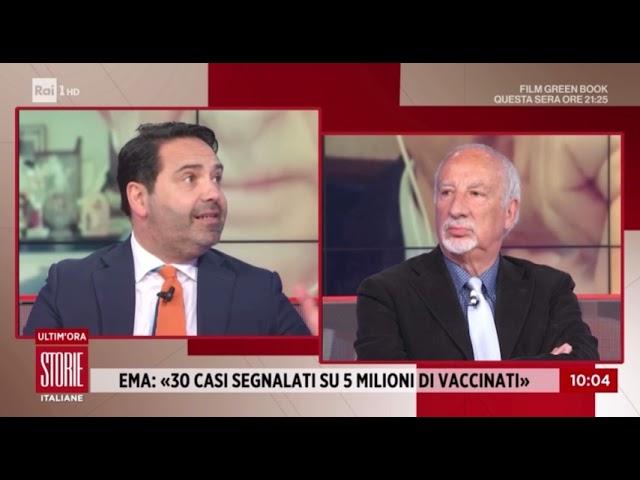 Via libera sul vaccino AstraZeneca - Storie Italiane 17/03/2021