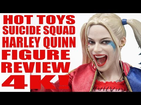 HOT TOYS SUICIDE SQUAD HARLEY QUINN 1/6 SCALE  FIGURE REVIEW 4K