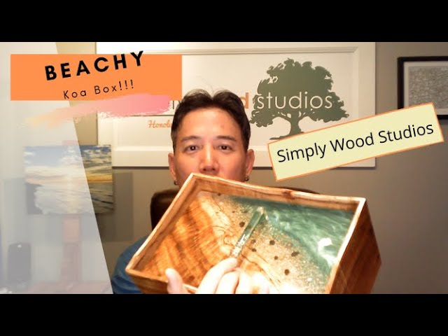 Check our the Beachy Curly Koa Jewelry Box!