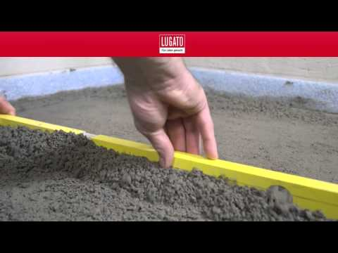 Vorbereitung des Untergrundes einer bodengleichen Dusche Teil 1/5 LUGATO
