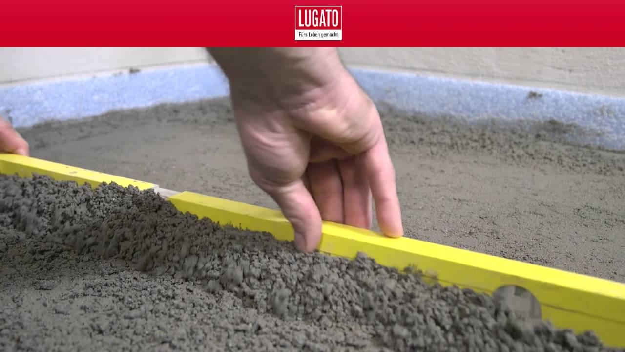 Vorbereitung Des Untergrundes Einer Bodengleichen Dusche Teil 1 5