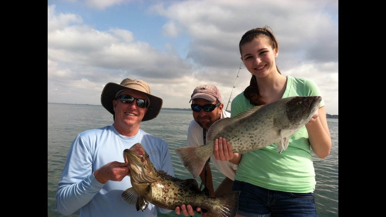 Fishing in sarasota bay 2013 youtube for Sarasota bay fishing report