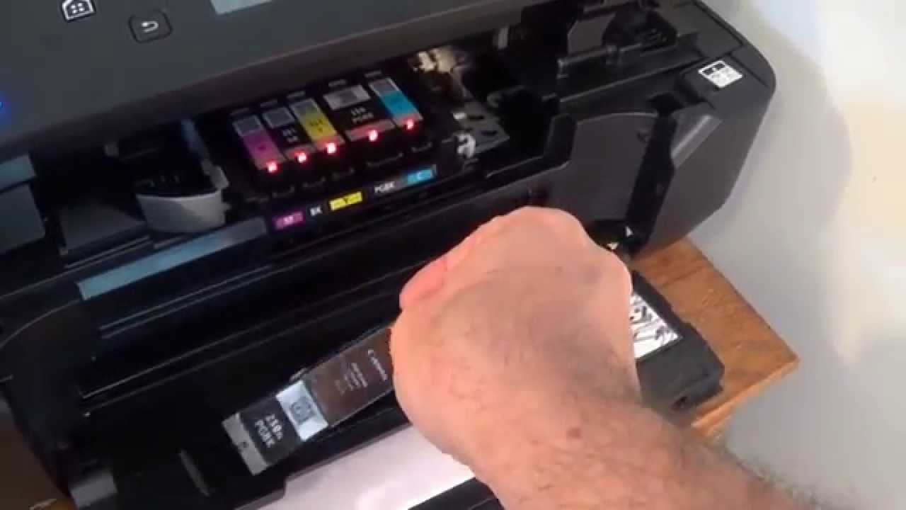 Canon Pixma Mg6620 Ink Cartridge Installation And Setup Youtube