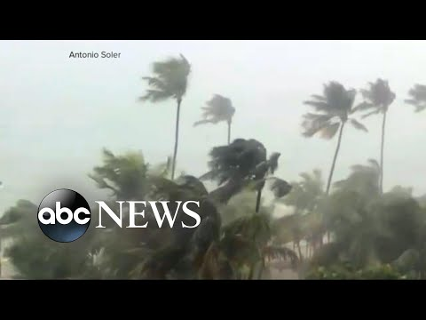Hurricane Irma barrels through the Caribbean, claiming at least 3 lives