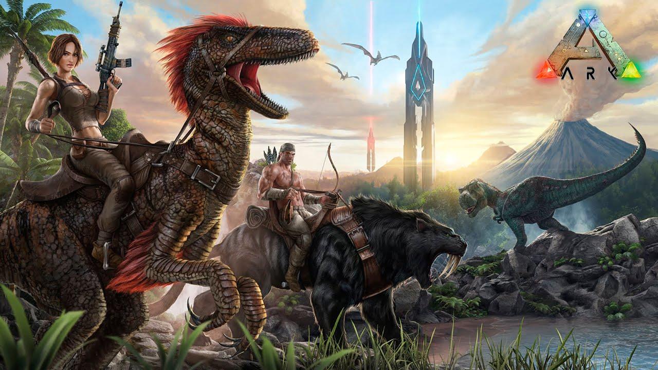 Ark Survival Evolved Novo Survival Game Dinossauros Reais