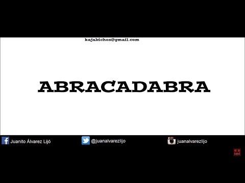 ABRACADABRA - MÄGO DE OZ - KARAOKE [MRJUANITO69]