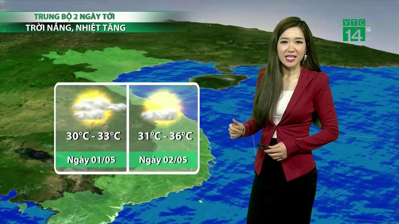 VTC14 | Thời tiết cuối ngày 30/04/2018 | Mưa dông bắt đầu xuất hiện tại các tỉnh Bắc Bộ