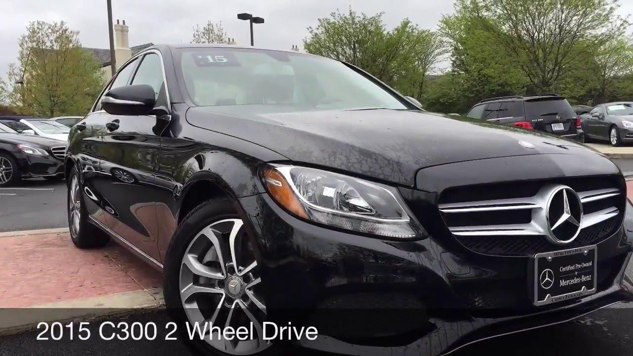 2015 Mercedes Benz C300 Black Black Youtube