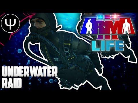 ARMA 3: Life Mod — Underwater RAID!