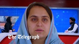 video: Watch: 'I was shaking' - Female TV presenter describes interviewing the Taliban following takeover