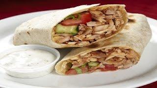 How To Make Chicken Doner Kebab - طريقة تحضير الشاورما التركية
