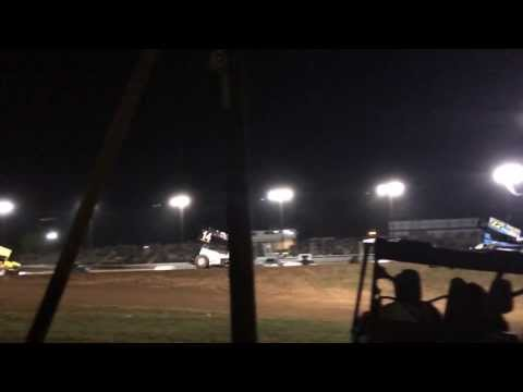 Slow motion action camera at I 30 speedway