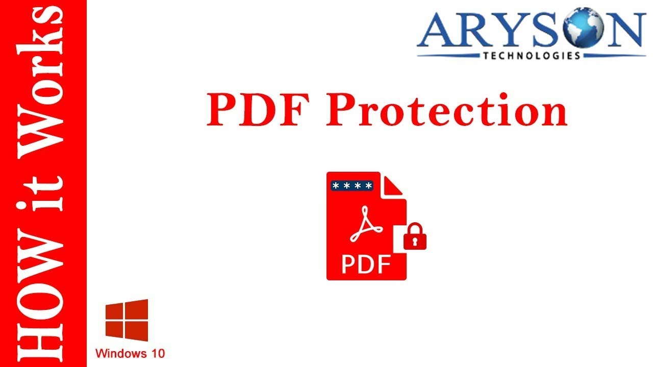 acrobat pdf protect