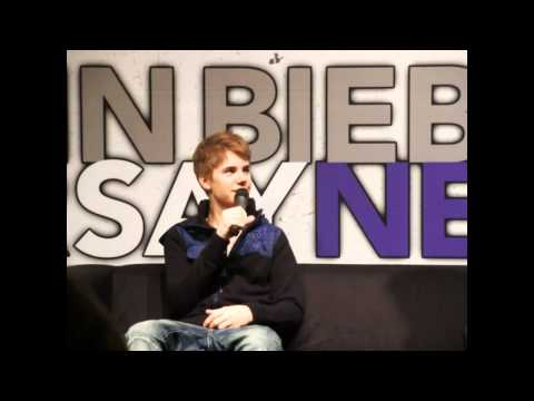 Justin Bieber Press Conference Ahoy Netherlands - New Questions