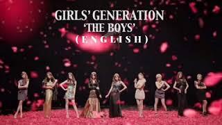 GIRLS' GENERATION (소녀시대) – The Boys [English Ver] (Audio)