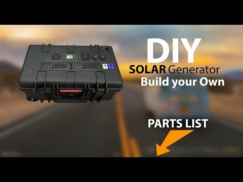 DIY Inergy Kodiak Solar Generator