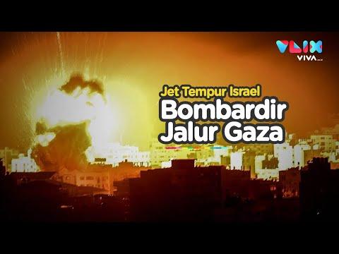 Diledek Hamas, Roket Israel Mengamuk Di Gaza