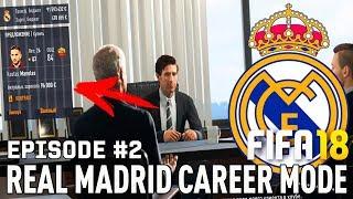 FIFA 18 | Карьера тренера за Реал Мадрид [#2] | ТРАНСФЕРЫ ! СЛОВИЛ КРУПНЫЙ БАГ?
