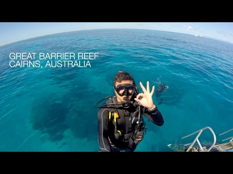 Scuba Diving @ The Great Barrier Reef - April 2015