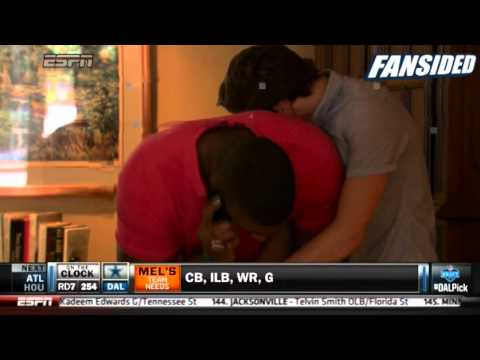 Michael Sam becomes first openly gay player drafted into the NFL, by St  Louis Rams