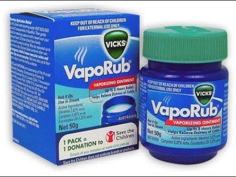 ★ Холодная мазь Vicks VapoRub устранит мигрень, поможет при отите и воспалении кожи