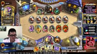 One of Amaz Hearthstone's most viewed videos: Why does it have to be dogs? (Amaz vs. tinsuke full game)
