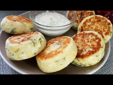 Spicy Cottage Cheese Pancakes - Breakfast Recipes With Cheese And Herbs