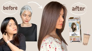 LIESE BUBBLE HAIR COLOR - Milk Tea Brown | DIY hair dye (review + tutorial 2021) screenshot 2