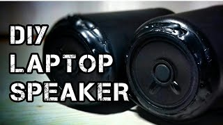 #1 DIY laptop speaker ( with circuit diagram )