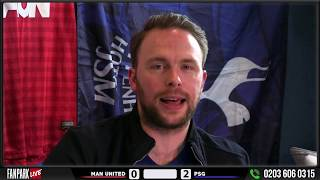 Man Like Mo SNAPS at RIVALS!! Manchester United 0-2 PSG Champions League