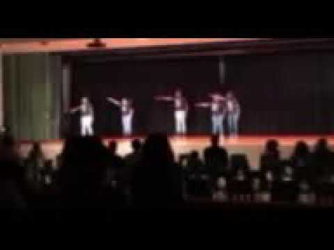 Albright middle school step team part 1