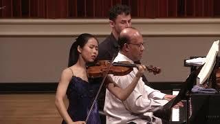 Gambar cover VC Young Artist Risa Hokamura   Mozart Violin Sonata K. 305   Indianapolis Competition