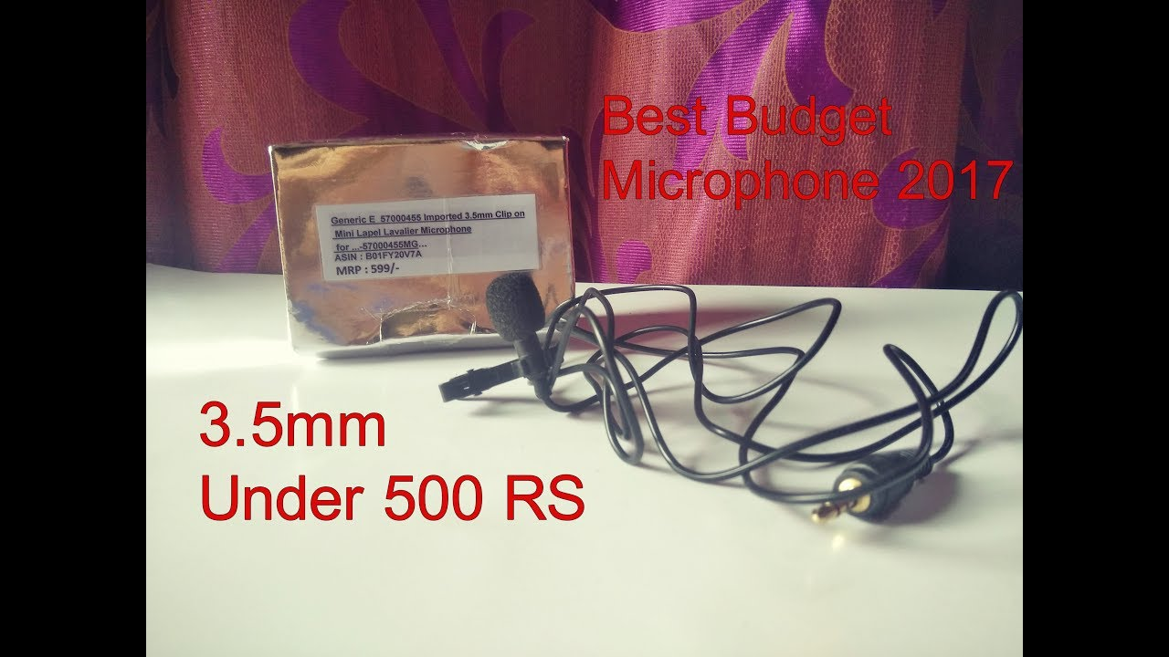 best budget mini lapel microphone under 500 rs 2017 india generic e 57000455 unboxing and. Black Bedroom Furniture Sets. Home Design Ideas