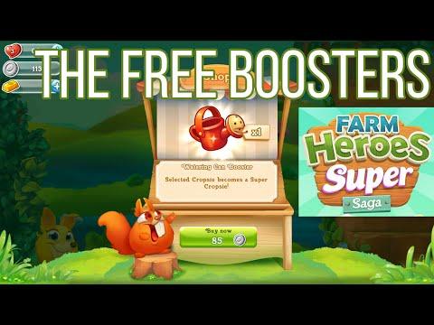 Farm Heroes Super Saga Free Coin Boosters
