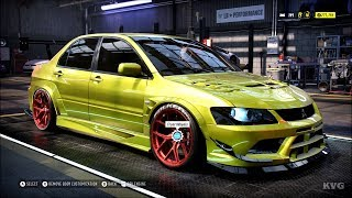 Need for Speed Heat - Mitsubishi Lancer Evolution IX 2007 - Customize | Tuning Car HD