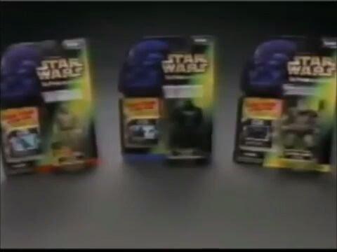 Star Wars játék reklámok (1995-2000)