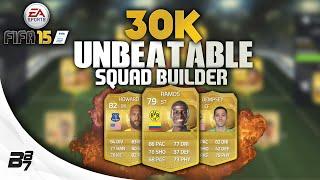 CHEAP 30K UNBEATABLE TEAM w/ RAMOS! | FIFA 15 Ultimate Team Squad Builder