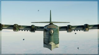 BIGGEST Plane in GAME Performing German AC-130 Close Air Support (War Thunder)