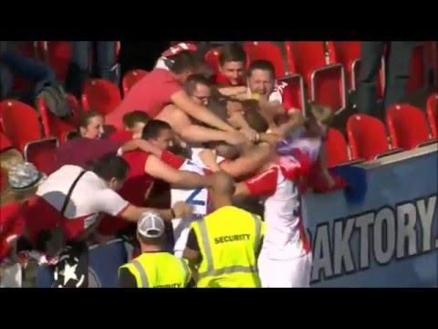 SK Slavia Praha - Góly Jaro 2016