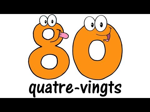 ♫ FRENCH Numbers 1100 ♫ Big Numbers Song ♫ Compter jusquà 100 ♫ Comptine des Chiffres ♫