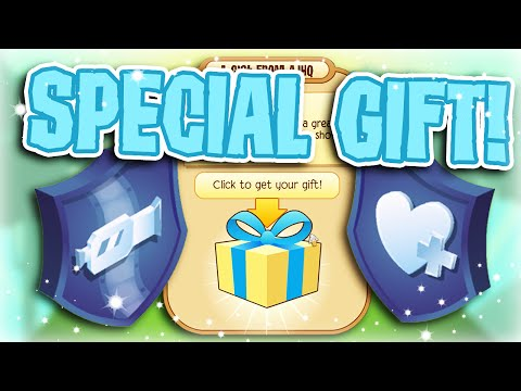 ANIMAL JAM GIFTED ME SPECIAL ITEMS!